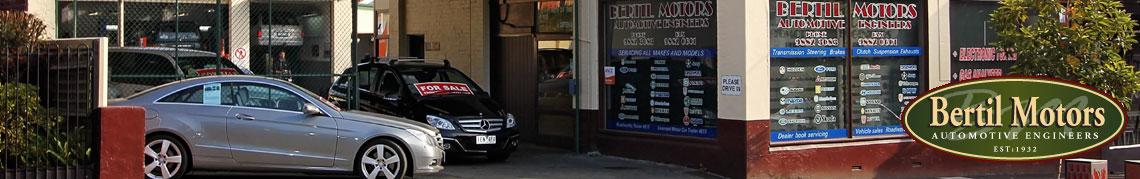 Bertil Motors Hawthorn