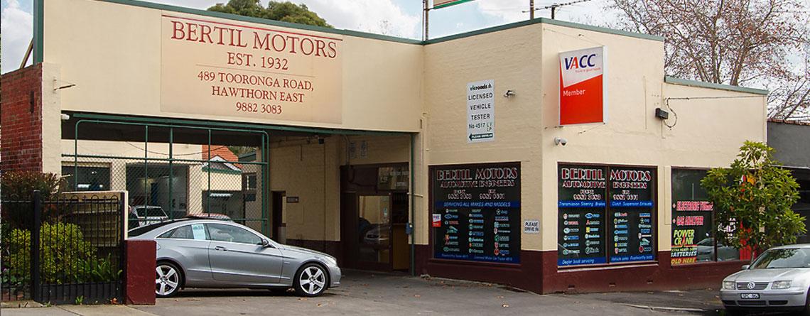 Bertil Motors: our location